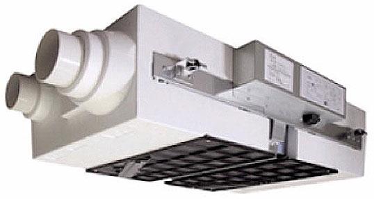 高効率 全熱交換型換気システム「エコエア85