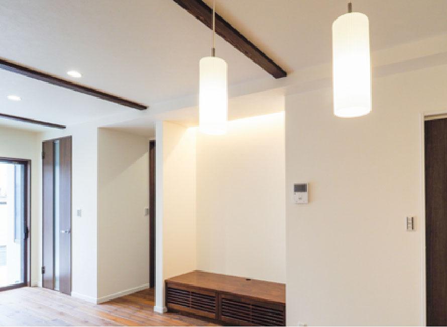 LED照明の部屋