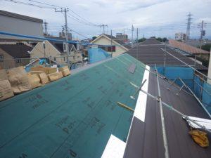 断熱防水にすぐれた屋根